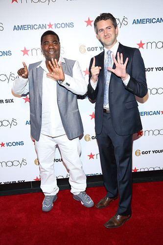 Tracy Morgan and Chris Marvin