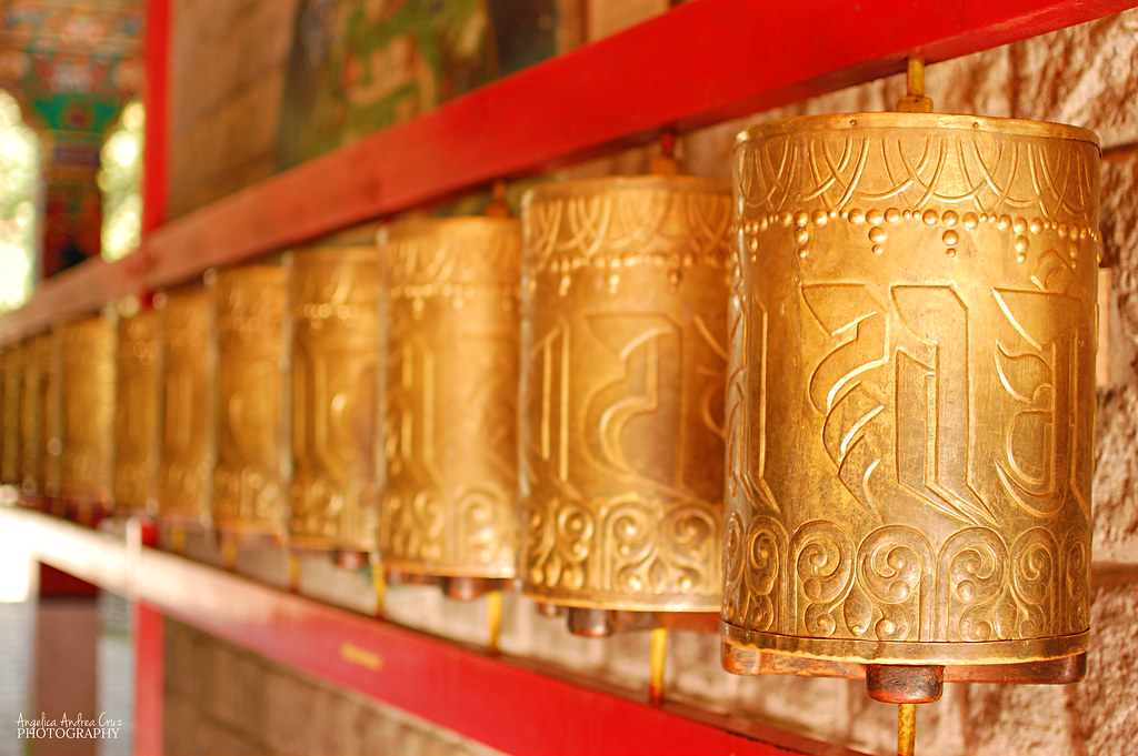 Tibetan Prayer Wheels - Dharamsala