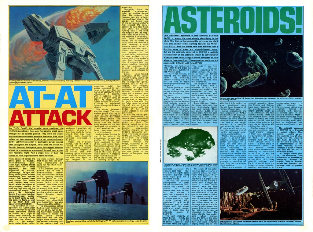 star wars empire strikes back poster magazine issue 4 1980
