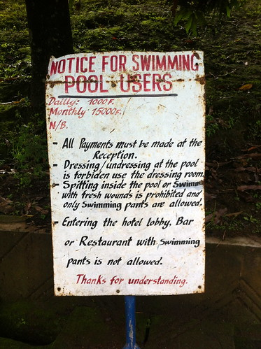 AMAZING SIGN: No open wounds in the pool!
