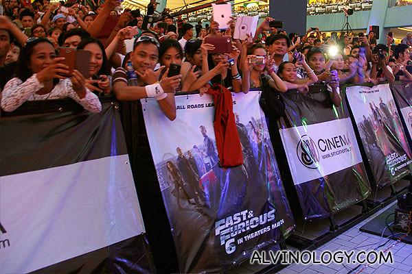 More fans...