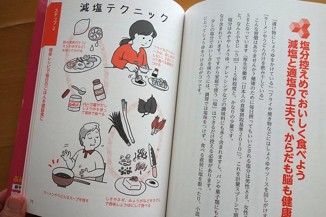 ぶんぶん書房「3ステップ式 脳をきたえる食事!」