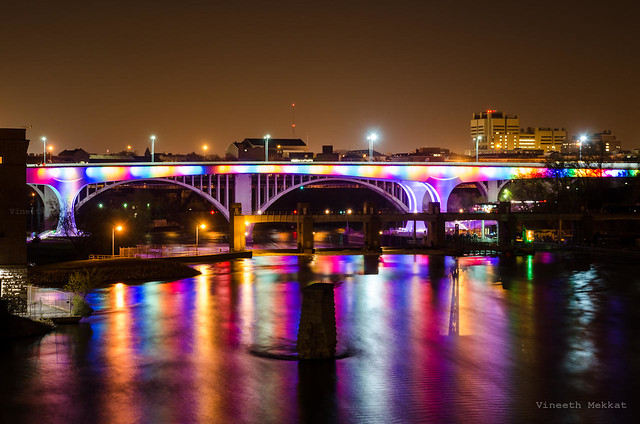 Rainbow Interstate, Minneapolis