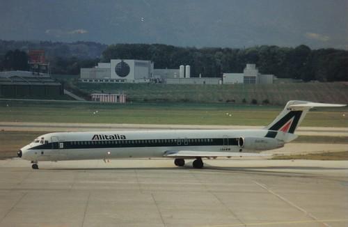 I-DAWM MD82 Alitalia