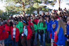 """Gathering for """"Team Ontario"""" Picture"""