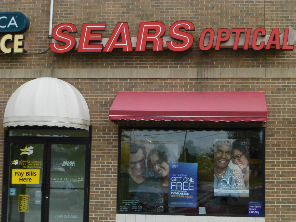 a71f29a358 ... Sears Optical in Wooster