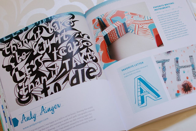 From the book Creative Lettering