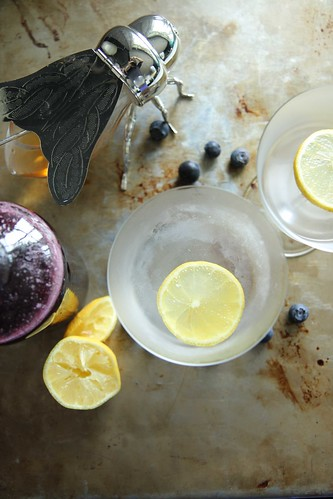 Blueberry Honey Vodka Lemonade