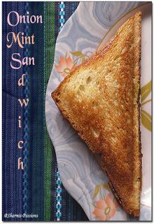 Onion Mint Sandwich