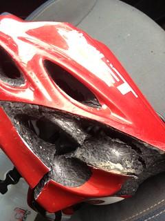 Broken Helmet
