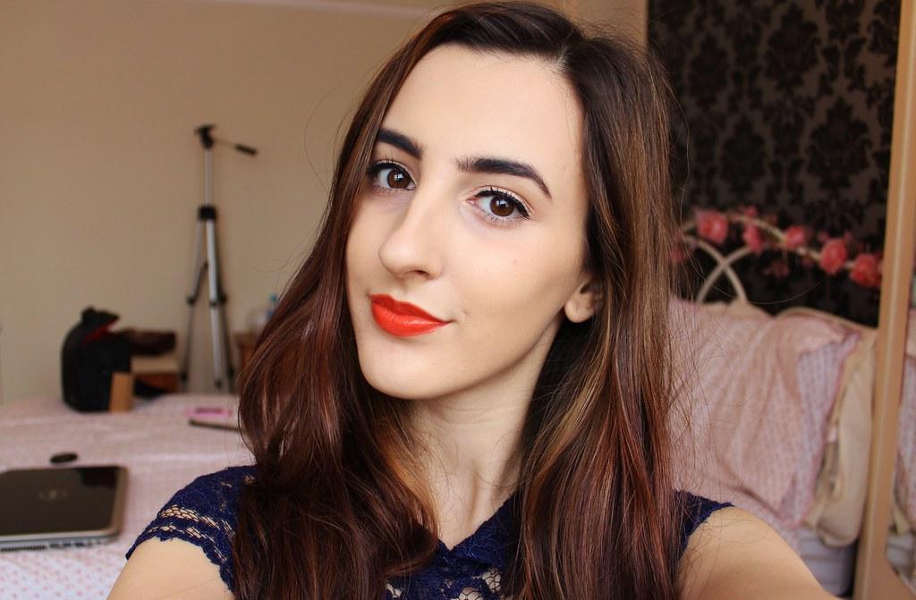 Topshop Infrared Lipstick Swatch