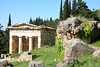 Delphi - Athenian treasury
