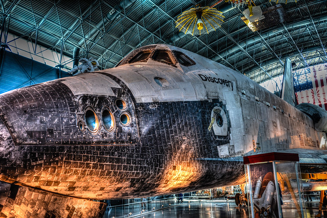 NASA Discovery Space Shuttle at National Air and Space ...