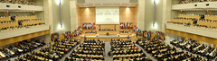 Panoramic view of the Assembly Hall. Opening session of the 102nd Session of the International Labour Conference. Geneva, 5 June 2013.
