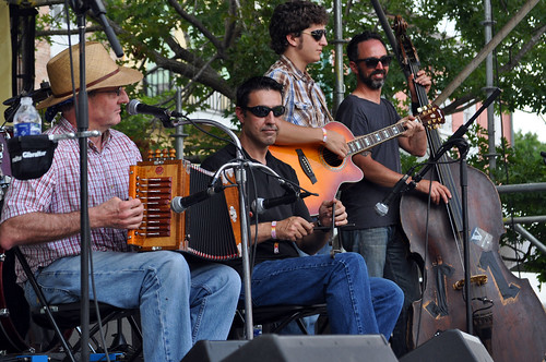 Les Freres Michot at the Cajun-Zydeco Fest