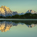 First Light over the Tetons by Anoop Anand A