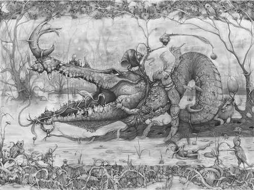 Adonna Khare, alligator