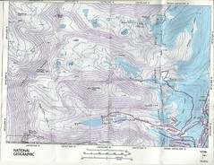 Quandary and Fletcher Topo Map