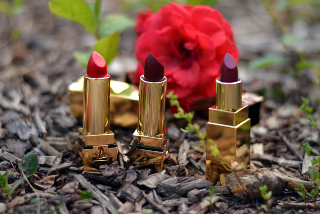 YSL beauty post red and roses 8