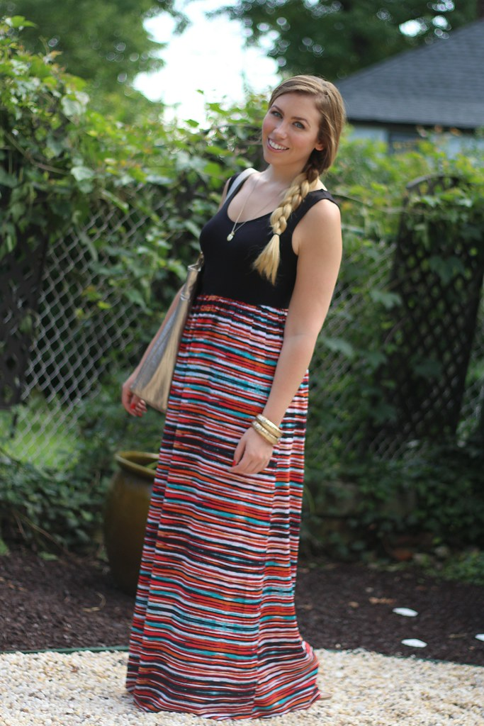 Living After Midnite: Stripes & Puppy Love: Outfit