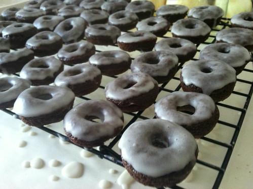 gluten-free chocolate doughnuts