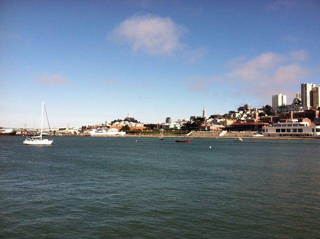 view from Fort Mason Pier