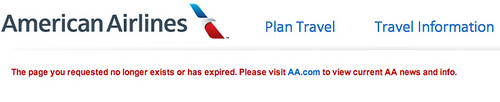 Detail: Expired AAdvantage Elite Status offer