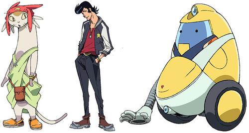 130820(1) - 搞笑宇宙獵人登場、「渡辺信一郎×夏目真悟」科幻動畫《スペース☆ダンディ》(SPACE☆DANDY)將於2014年1月首播! 2 FINAL