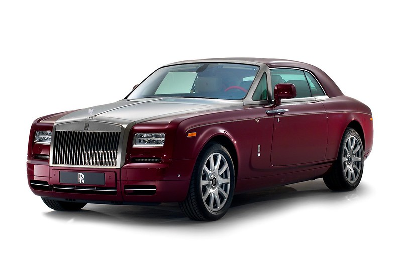 Rolls Royce Phantom Coupe Ruby Edition
