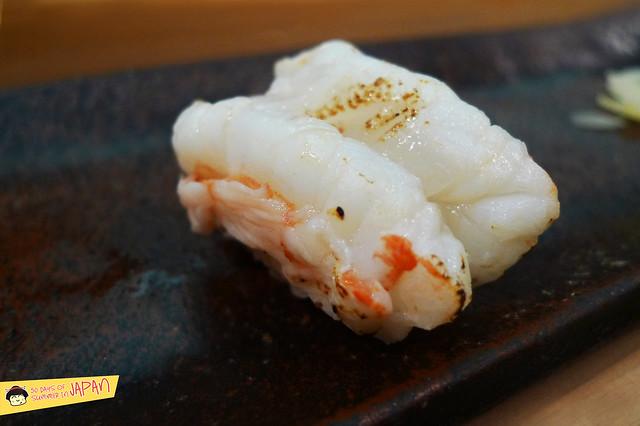 Sushi Sho - Tokyo - Bota prawn