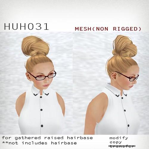 booN HUH031 hair