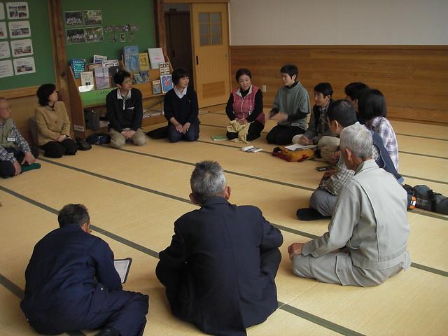 美和東文化センターで自己紹介をして,これまでの取り組みを聞いた.