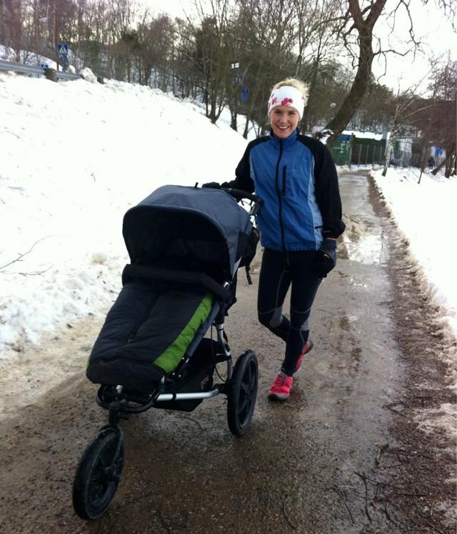 jogga efter graviditet