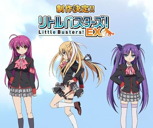 130917(2) - 18禁美少女遊戲《リトルバスターズ!エクスタシー》(Little Busters! EX)將改編為動畫版!