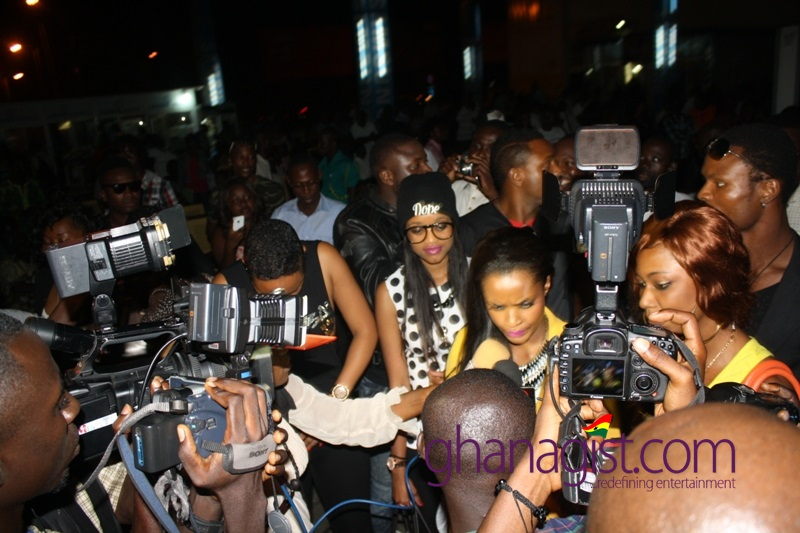 Dillish, Melvin and Marie in Ghana