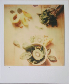 Food photography with Polaroid 1