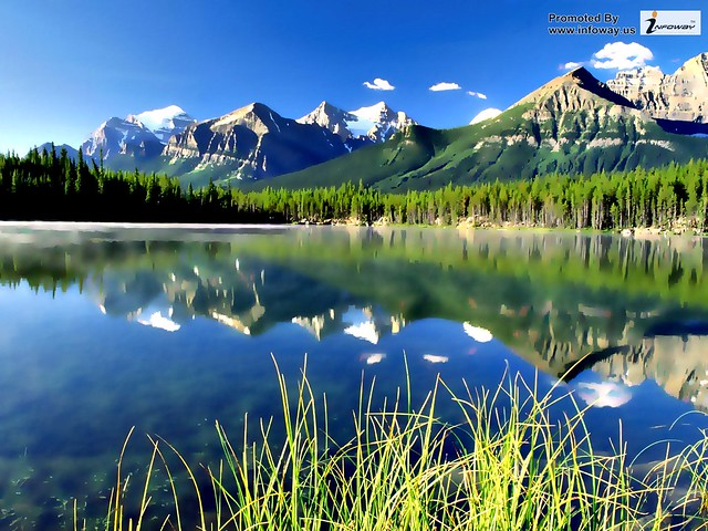 Natural mountain scenery wallpaper flickr photo sharing - Beautiful panoramic view house to take full advantage of the scenery ...