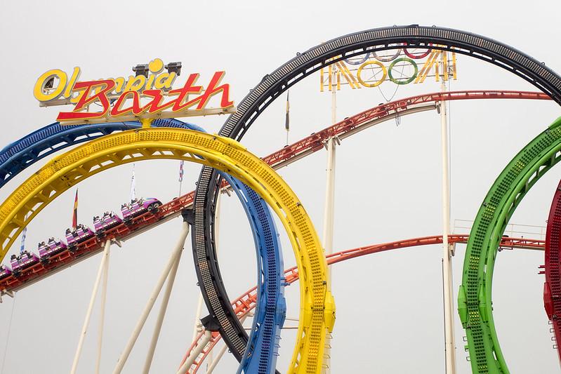 Olympia rollercoaster - Oktoberfest 2013