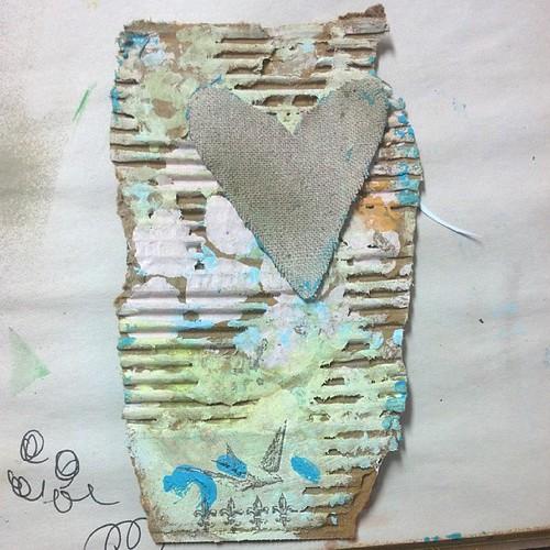 #Trashart #heart