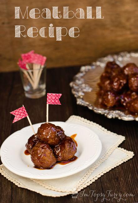 Potluck Meatballs Recipe Ashlee Marie