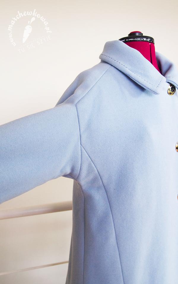 blog, moda, retro, styl, vintage, sewing, handmade, krawiectwo, wykrój, Burda, pattern, Jackie Kennedy Style Coat