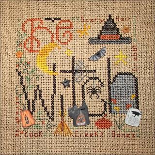 Be A Witch cross stitch