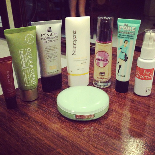 how i organized my makeup