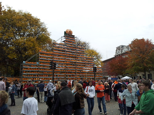 Keene Pumpkin Festival Scaffold