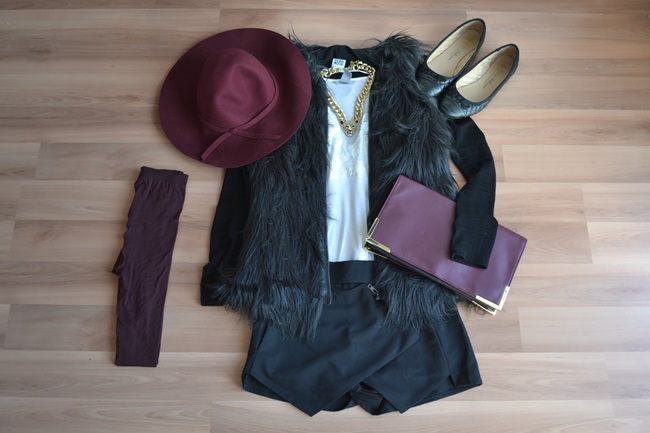 Outfit Mix and Match Der weinrote Hut (7)