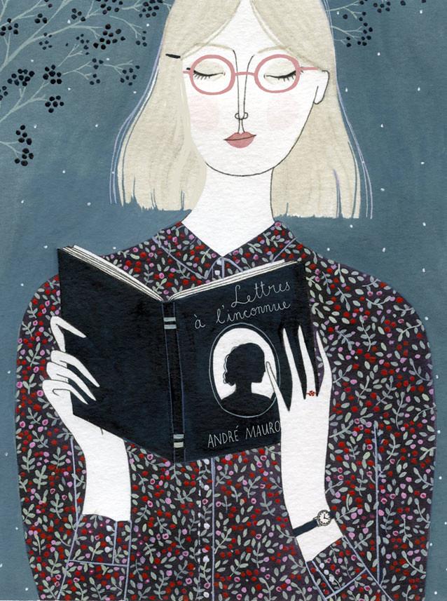 L'Inconnue by Yelena Bryksenkova