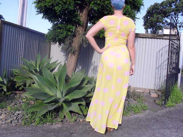 Anna dress - back