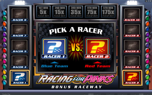 Racing for Pinks Bonus Race