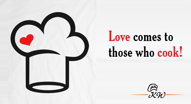 Love comes to those who cook