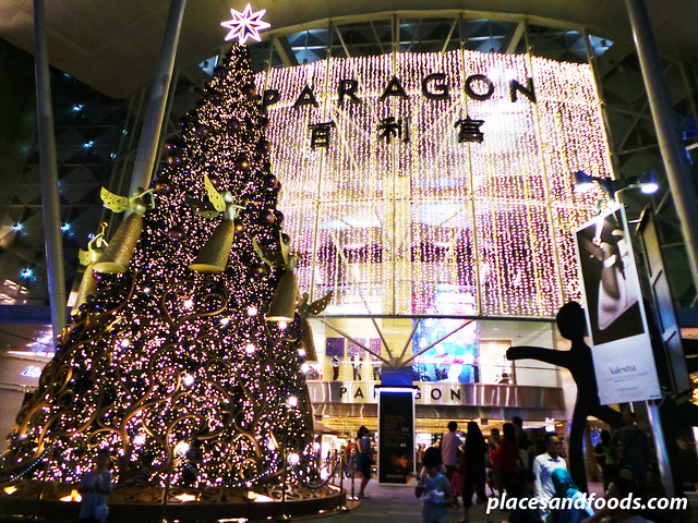 orchard road christmas lights 2013 paragon